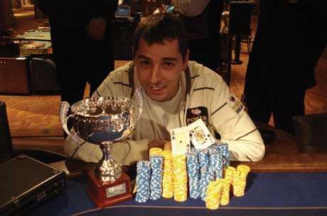 Milanović Miloš ŠAMPION Danube Poker Masters Serije - 1.590.000 rsd!