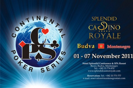 Continental Poker Series в Черногории