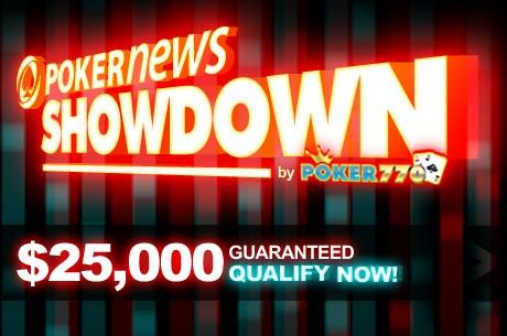 Ganha a tua parte do PokerNews $25,000 Showdown na Poker770