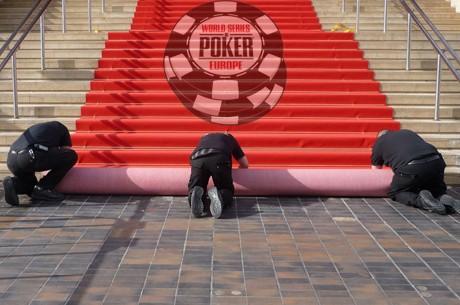 Reporting live : coup d'envoi des WSOP Europe à Cannes