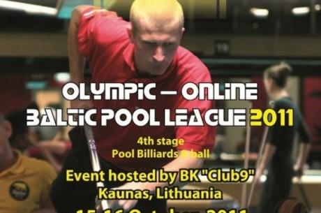 Olympic Online Baltic Pool League 2011 - 4. posms Kauņā
