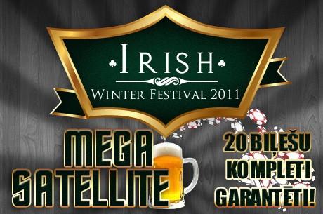 Mega Satelīts ar 20 VIP biļešu komplektiem €36,000 vērtībā!