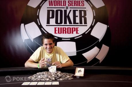 Guillaume Humbert võitis WSOP Europe avaturniiri