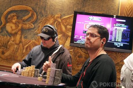 WSOPE den třetí: Hellmuth na náramek nedosáhl