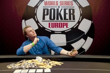 Andrew Hinrichsen se proclama ganador del Evento #2 de las World Series of Poker Europe