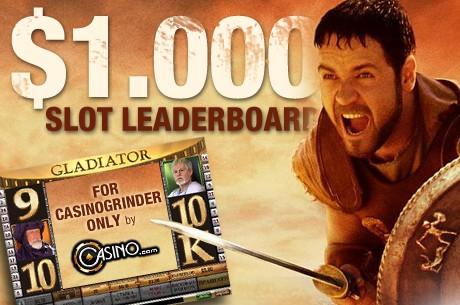 Παίξτε στο αποκλειστικό CasinoGrinder Slot Τουρνουά