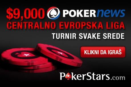 DANAS Počinje $9,000 Centralno Evropska Liga na PokerStarsu