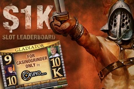 Vegyél részt a CasinoGrinder exkluzív, ingyenes szlotversenyén