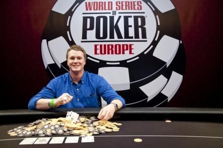 2011 WSOPE Event # 2, Day 3: Хінрічсен святкує перемогу...