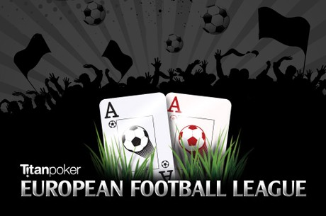 Titan Poker's Newest Promotion Combines the European Football League and Poker