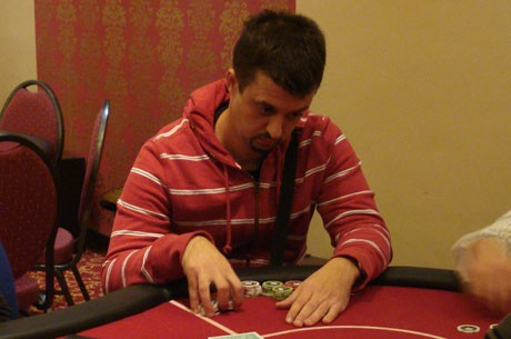 Mario Zeljko čip lider Finalnog Stola Main Eventa na Cro Poker Tour
