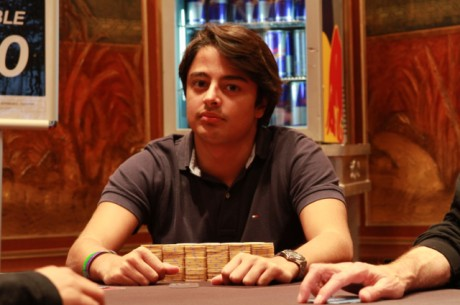 Michel Dattani na Final Table do Evento#6 WSOPE 2011