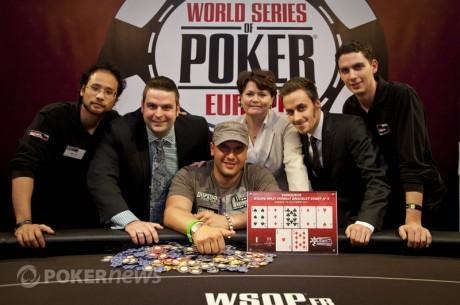 2011 WSOPE Event #5 победитель - Майкл Мизрахи ; Филипп Буше...