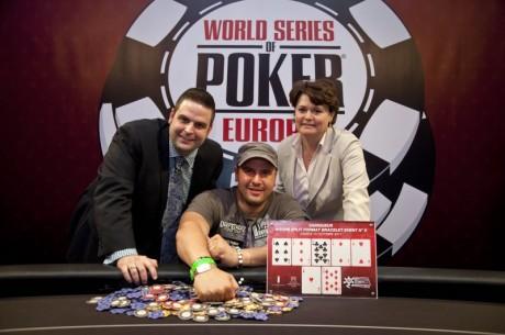 2011 WSOPE øvelse #5: Michael Mizrachi vant; Philippe Boucher herjet ved  øvelse #6