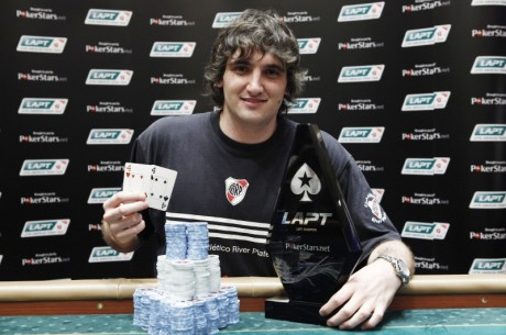 PokerStars LAPT Colombia: Julian Menendez over 681 spillere