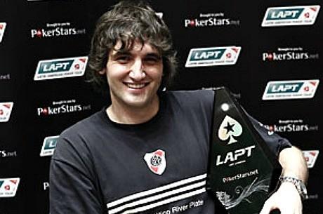 Julián Menéndez, ganador del PokerStars LAPT Medellín 2011