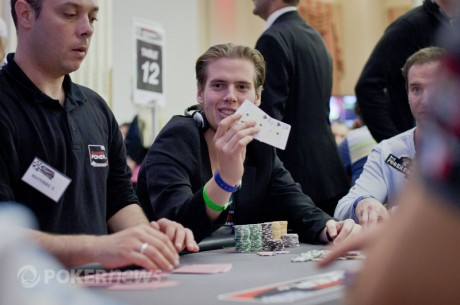 2011 World Series of Poker Europe Main Event otrā diena: Līderos izraujās Rijkenbergs