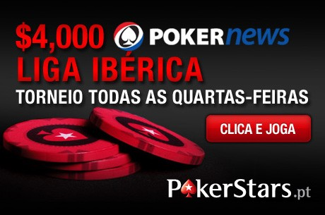 PokerNews Iberian League: Hoje às 20horas na PokerStars