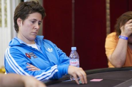 EPT San Remo, Den 1b: Opět skvělý poker, Vanessa Selbst v popředí chipcountu
