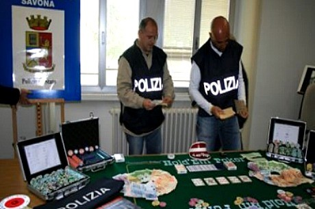36 detenidos en Roma por jugar un torneo de poker en vivo