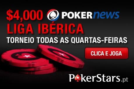PokerNews Iberian League: Quarta feira é dia de Liga na PokerStars
