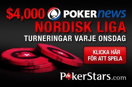 PokerNews $4000 Nordiska liga & $50k freeroll hos PokerStars