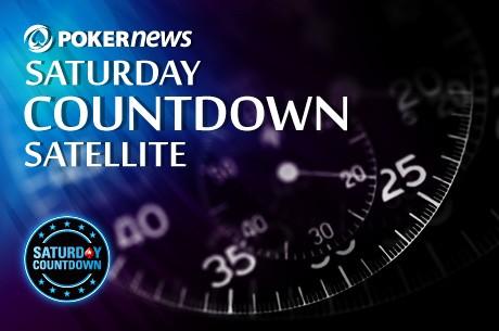 Nyerj beülőt a PokerStars Saturday Countdownra, most szombaton $20.000 a garantáció