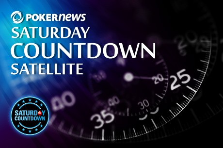 Consigue entradas para el PokerStars Saturday Countdown