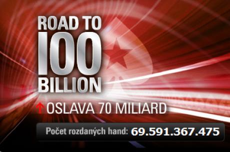 Cesta směr 100 miliard: 70. mld handa se blíží!
