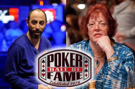 Barry Greenstein и Linda Johnson влизат в Покер Зала на Славата