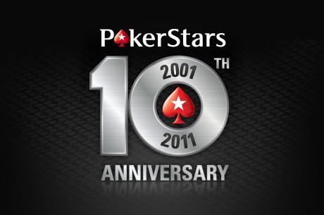 Palīdzi nosvinēt 10. PokerStars gadadienu