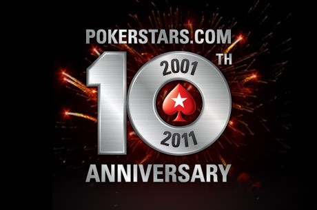 PokerStars 10주년 기념을 $10 Million Sunday Million과 함께!