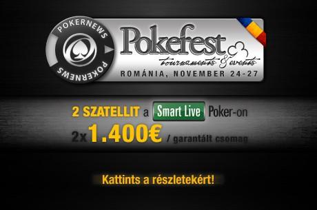 Nyerj versenybeülőt a novemberi PokerFest Bukarestre exkluzív freerolljainkon!