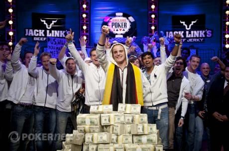 Пиус Хайнц получил золотой браслет ME WSOP 2011