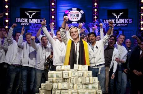 Piusas Heinzas - 2011 WSOP pagrindinio turnyro čempionas!