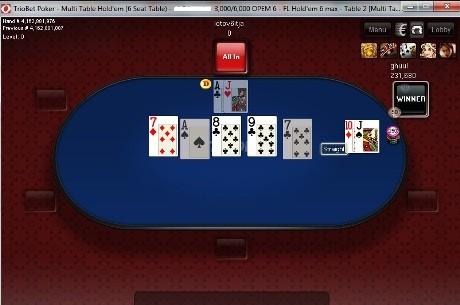 Online-pokkeri Eesti meistrivõistlused jõudsid poole peale