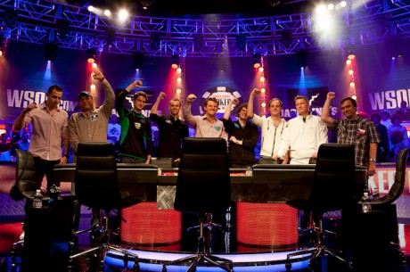 WSOP Through the Lens: The November Nine and a New Champion