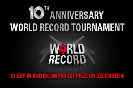 Na PokerStarsu Zakazan Turnir Za Obaranje Svetskog Rekorda