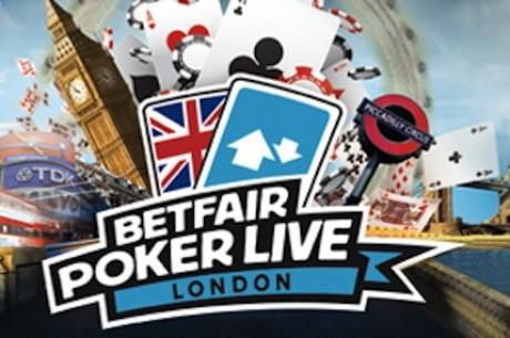 Võida pakett Londonis toimuvale Betfair Poker LIVE'ile
