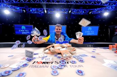 Алексей Ковальчук занял третье место на ME Partouche Poker...