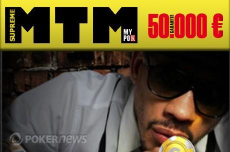 """MyPok : Coverage du """"Suprême MTM"""" à 50.000€ en direct sur PokerNews"""