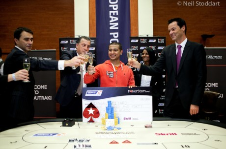 Zimnan Ziyard vence PokerStars EPT Loutraki - €347.000