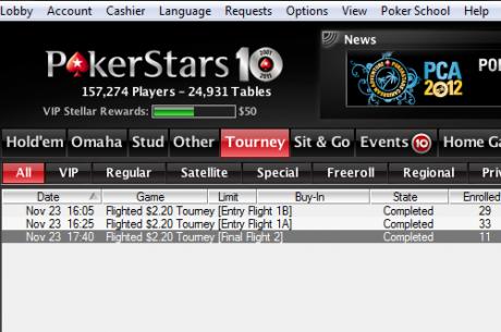PokerStars тества нови онлайн турнири