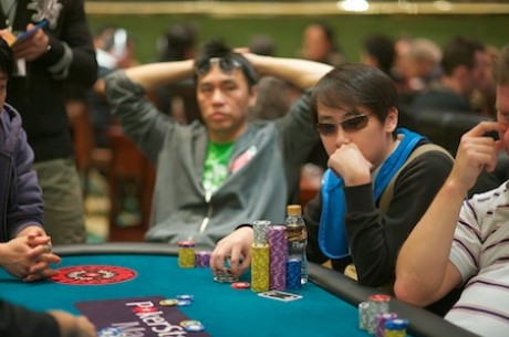 PokerStars APPT Macau Tag 2: Nathaniel Seet als Chipleader