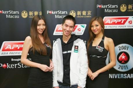 "2011 APPT 마카오의 우승자는 Randy ""나노노코"" Lew"