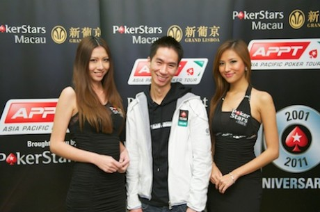 Randy Lew Šampion 2011 Asia Pacific Poker Tour Macau Main Eventa
