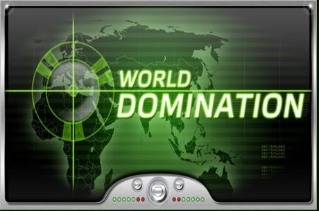 PartyPoker nedēļas ziņas: World Domination, baloži, Aussie millions