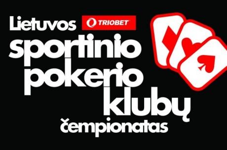 Lietuvoje bus išaiškintas pajėgiausias sportinio pokerio klubas