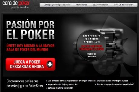 A partir de hoy, Cara de Poker se une a PokerStars