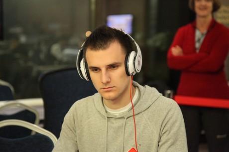 Андрей Патейчук на финальном столе WPT Прага - Live!